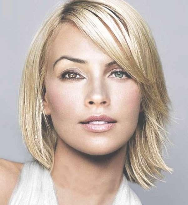 Cute Medium Hairstyles For Thin Hair Throughout Recent Medium Hairstyles For Thin Hair Oval Face (View 17 of 25)
