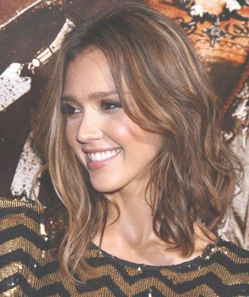 Cute Medium Length Haircuts | Style Me Thrifty Inside Most Recently Jessica Alba Medium Haircuts (View 8 of 25)