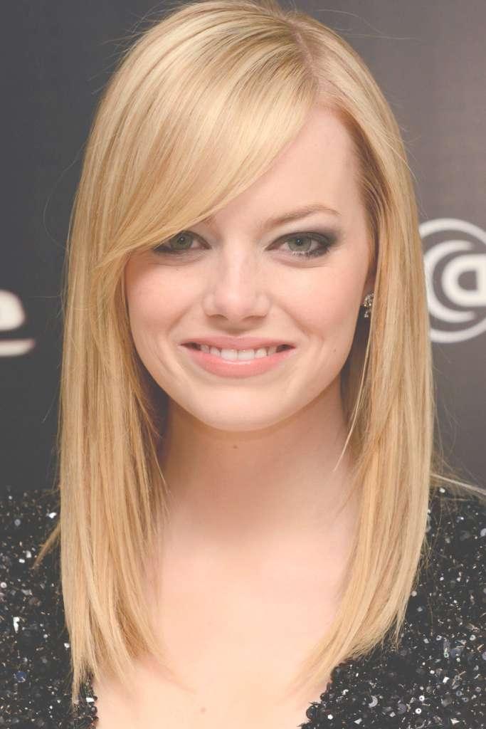 Cute Medium Length Hairstyles For Thin Blonde And Fine Hair | Cute Throughout Current Medium Hairstyles For Round Faces And Thin Fine Hair (View 3 of 16)