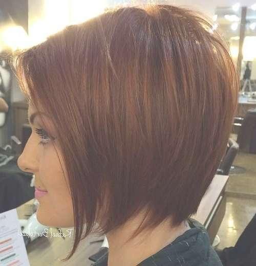 Cute Short Layered Bob Hairstyles 2016 – Digihairstyles Within Short Layered Bob Hairstyles (View 12 of 25)