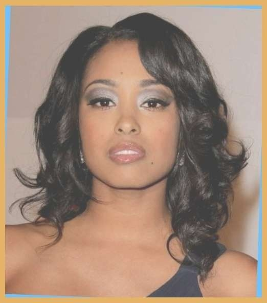 Cute Shoulder Length Hairstyles For Black Women   Hairstyles Regarding Newest Cute Medium Hairstyles For Black Women (View 9 of 25)