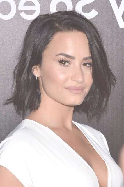 Demi Lovato's Gorgeous Hairstyles + Her Great Performance Of Throughout Best And Newest Demi Lovato Medium Hairstyles (View 16 of 25)