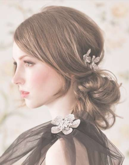Down Hairstyles For Medium Hair With Newest Medium Hairstyles For A Party (View 21 of 25)