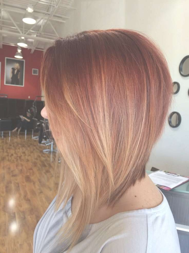 Dramatic Inverted Bob With Red Ombre. Gorg (View 13 of 25)
