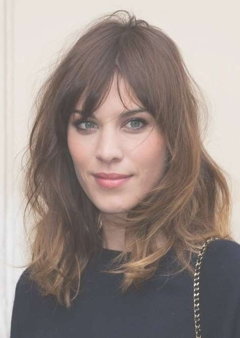 Easy Daily Hairstyle For 2014: Medium Messy Hairstyle For Women Inside Most Up To Date Messy Medium Hairstyles (View 10 of 25)