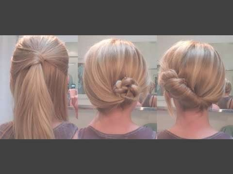 Easy Hairstyles For A Date / Work – Hairstyles For Long Hair For Recent Medium Hairstyles For Work (View 2 of 15)