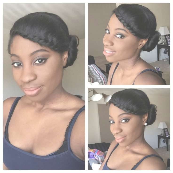 Easy Hairstyles For Medium Length Black Hair With Regard To Current Medium Haircuts For Relaxed Hair (View 13 of 25)