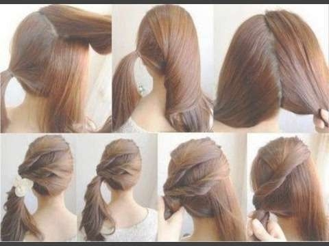 Easy Lazy Hairstyles | Fall Hairstyle For Medium + Long Hair 2016 Inside Latest Medium Hairstyles For Fall (View 17 of 25)