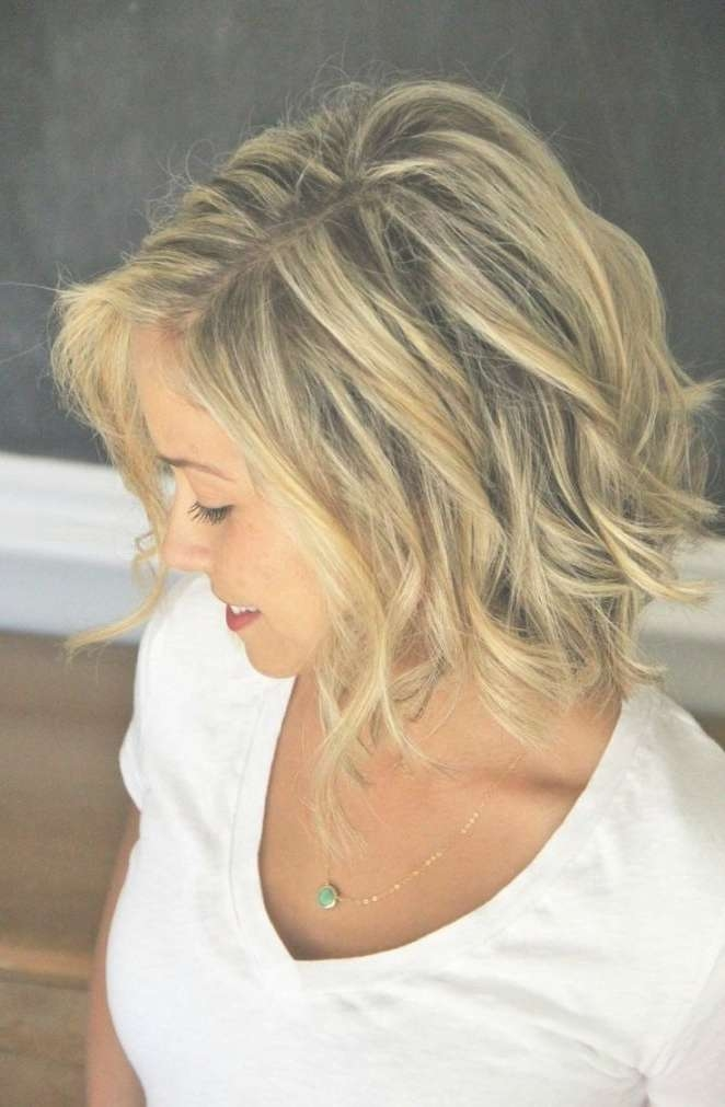 Easy Medium Hairstyles For Women Inside Best And Newest Trendy Medium Haircuts For Round Faces (View 16 of 25)