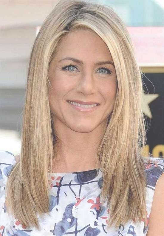 Easy Medium Length Haircuts Thick Hair With Regard To 2018 For