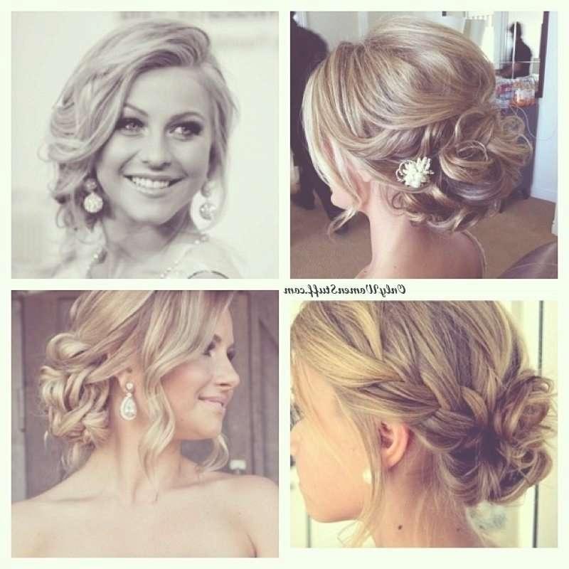 Easy Prom Updos For Medium Hair Regarding Most Recently Medium Hairstyles For Prom Updos (View 4 of 15)