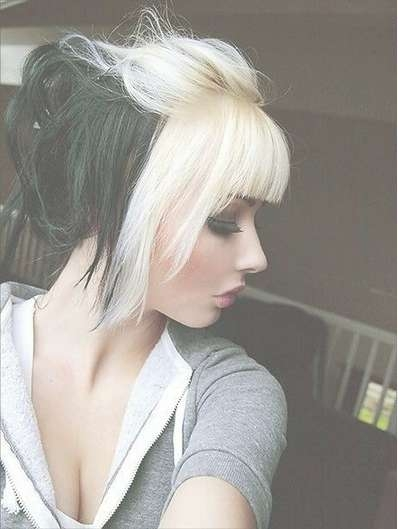 Edgy Chic Emo Hairstyles For Girls – Pretty Designs Pertaining To Latest Edgy Medium Haircuts For Thick Hair (View 24 of 25)