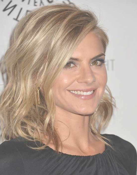 Eliza Coupe's Hairstyles: Easy Medium Haircut For Women – Popular In Current 2014 Medium Hairstyles (View 13 of 25)