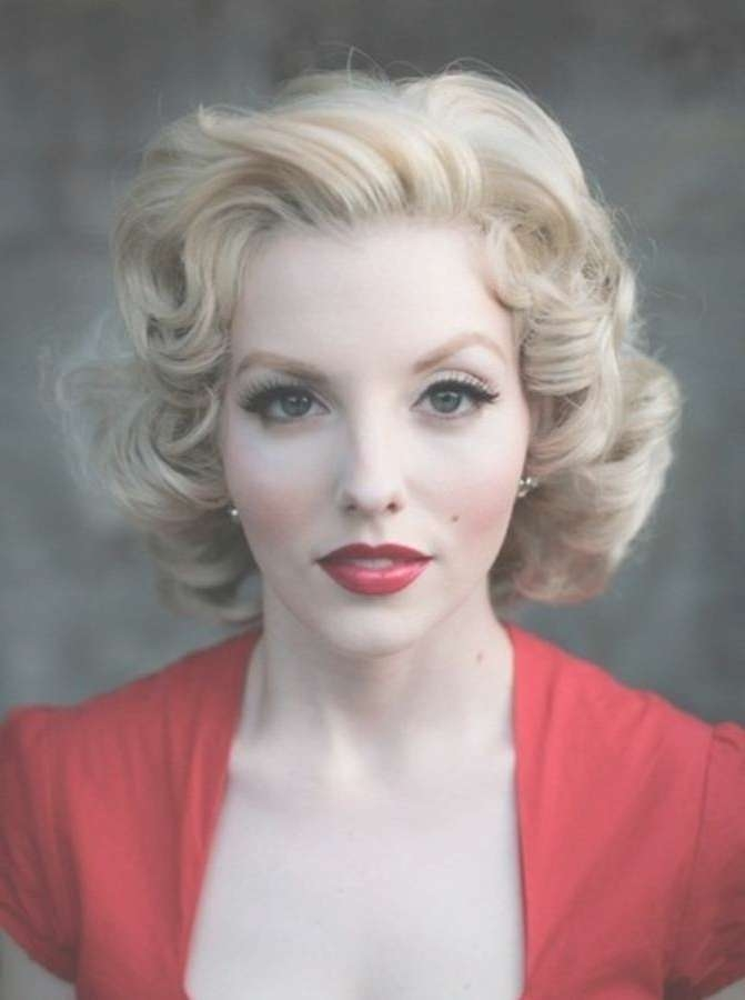 Featured Photo of Fifties Medium Hairstyles