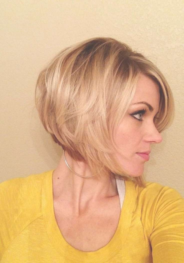 Feminine Short Hairstyle For Women – The Layered Bob Cut For Current Feminine Medium Haircuts (View 14 of 25)