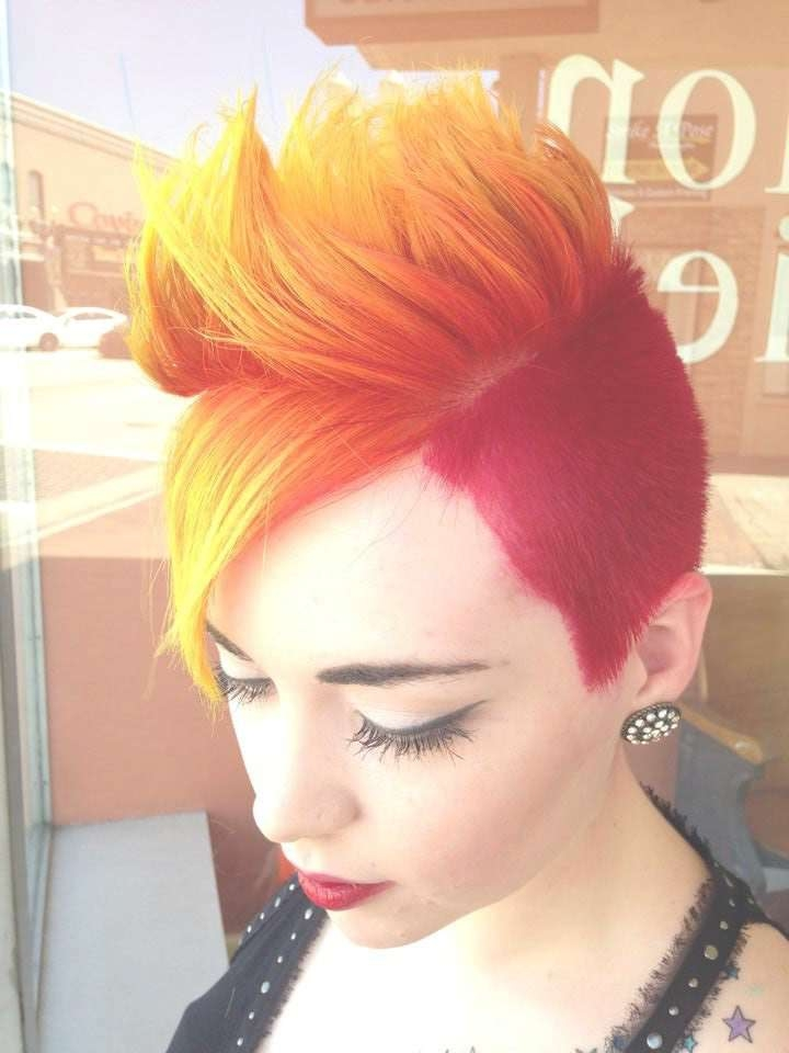 Explore Photos Of Fire Red Medium Hairstyles Showing 15 Of 15 Photos