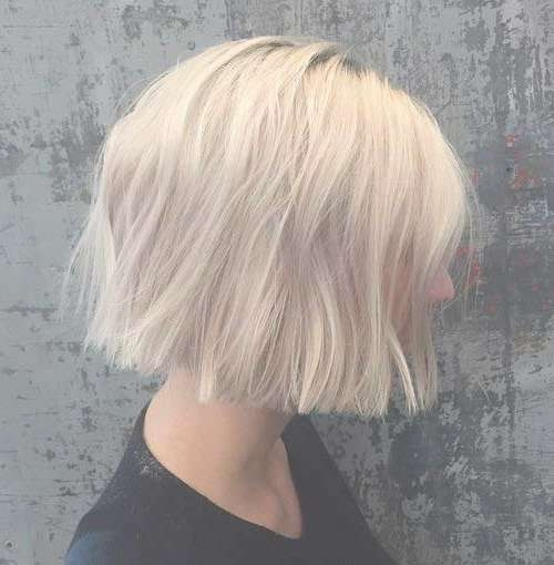 For A Different Style: Blunt Bob Haircuts | Short Hairstyles 2016 For Blunt Cut Bob Haircuts (View 19 of 25)