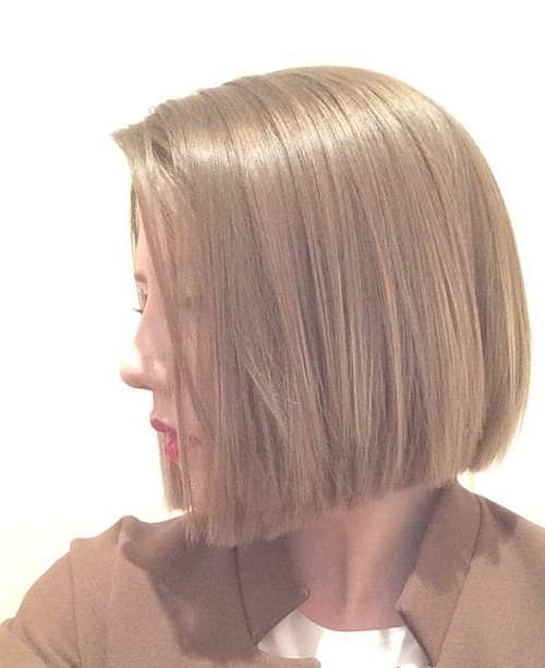 For A Different Style: Blunt Bob Haircuts | Short Hairstyles 2016 Regarding Blunt Bob Hairstyles (View 9 of 25)