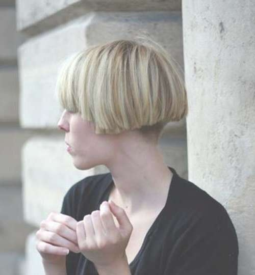 For A Different Style: Blunt Bob Haircuts   Short Hairstyles 2016 With Regard To Blunt Bob Haircuts (View 22 of 25)