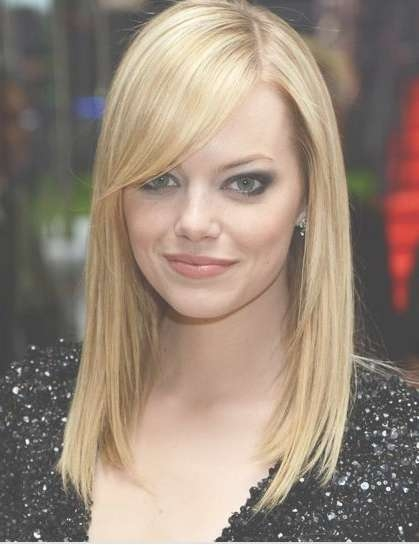 For Big Foreheads Shoulder Length Hairstyles – Styloss Throughout Latest Medium Hairstyles For Big Foreheads (View 2 of 27)