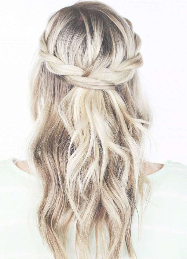 Formal Long Hairstyles Pinterest Formal Long Hairstyles For Women S With Regard To Most Popular Half Long Half Medium Haircuts (View 10 of 15)