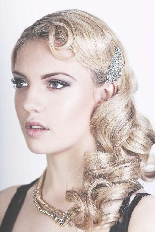 Friday Feature} Seriously Great Gatsby 20S Inspired Hair & Make Up Inside Latest 20S Medium Hairstyles (View 14 of 25)