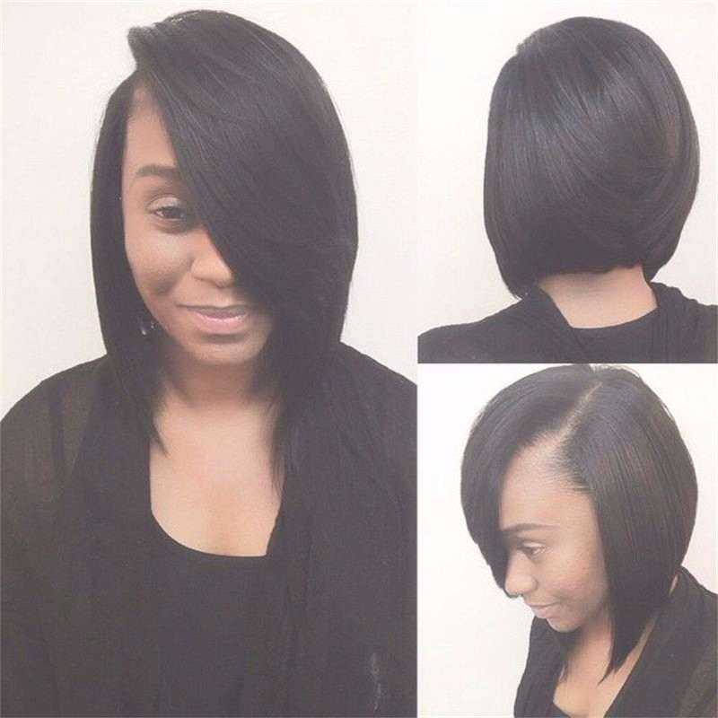 Full Lace Wigs New Short Haircuts Brazilian Virgin Hair Glueless Intended For Full Bob Haircuts (View 18 of 25)