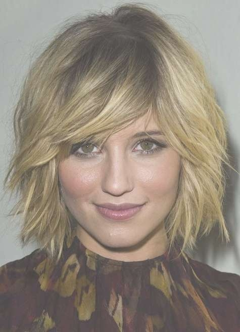 Funky Choppy Bob Haircut: Fine Textured Hair – Popular Haircuts With Most Recent Textured Medium Haircuts (View 8 of 25)
