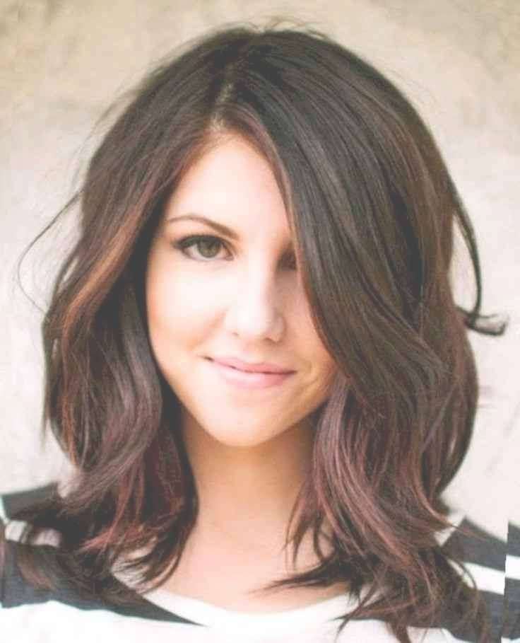 Funky Ideas Brunette Medium Hairstyles | Simple Stylish Haircut With Best And Newest Brunette Medium Hairstyles (View 5 of 15)