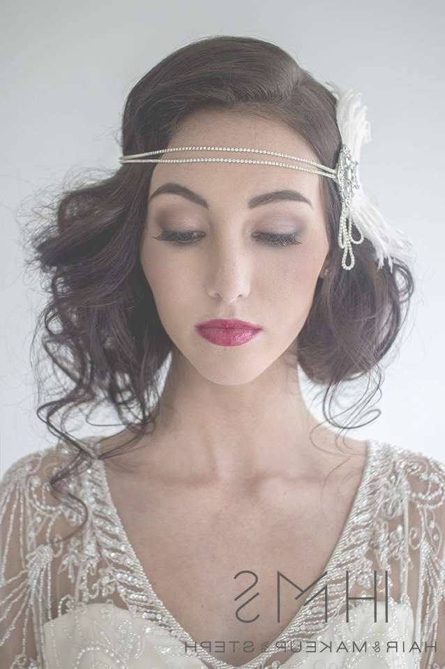 Gatsby Wedding | Beauty | Pinterest | Gatsby Wedding, Gatsby And Inside Most Recent Flapper Girl Medium Hairstyles (View 17 of 25)