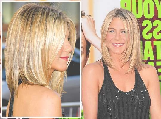 Get Jennifer Aniston's Long Angled Bob With Jennifer Aniston Long Bob Haircuts (View 17 of 25)