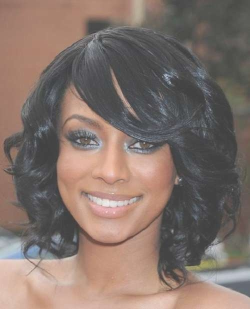Glamorous Medium Haircuts For African American Women Inside Most Recently Medium Hairstyles For African American Women (View 25 of 25)