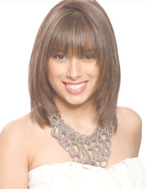 Go For This Haircut If You Want Such Type Of Style. Description Regarding Newest Medium Haircuts For Women In 20S (Gallery 2 of 25)
