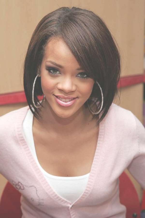 Gorgeous Bob Hairstyles For Black Women | Trendy Hairstyles Intended For Most Up To Date Medium Haircuts For Round Faces Black Women (View 3 of 25)