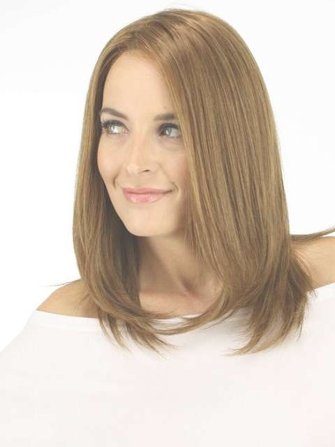 Gorgeous Medium Hair For Long Faces In Current Medium Haircuts For Long Faces (View 11 of 25)
