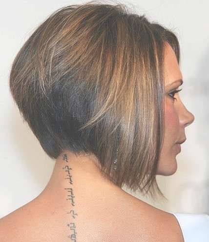 Graduated Bob For Straight Hair – Popular Haircuts With Regard To Recent Graduated Medium Haircuts (View 19 of 25)