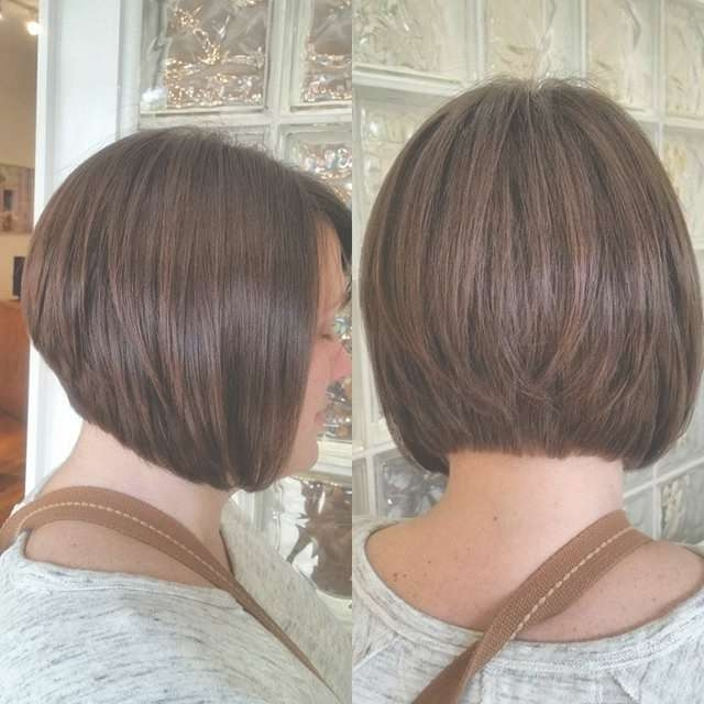 Graduated Bob Hair Styles Pretty Designs Within 2018 Graduated Medium Haircuts (View 21 of 25)