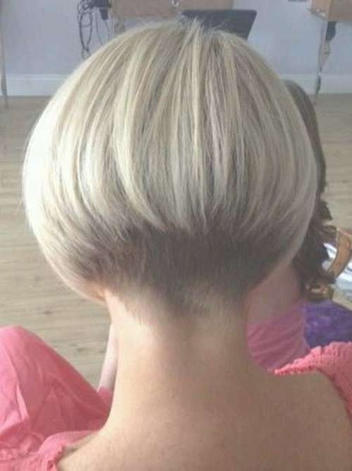 Graduated Bob Hairstyle Back View – Rkomedia Pertaining To Bob Haircuts Shaved In Back (View 22 of 25)