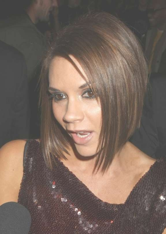 Graduated Bob Victoria Beckham – Hairstyles Weekly Within Best And Newest Victoria Beckham Medium Haircuts (View 10 of 25)