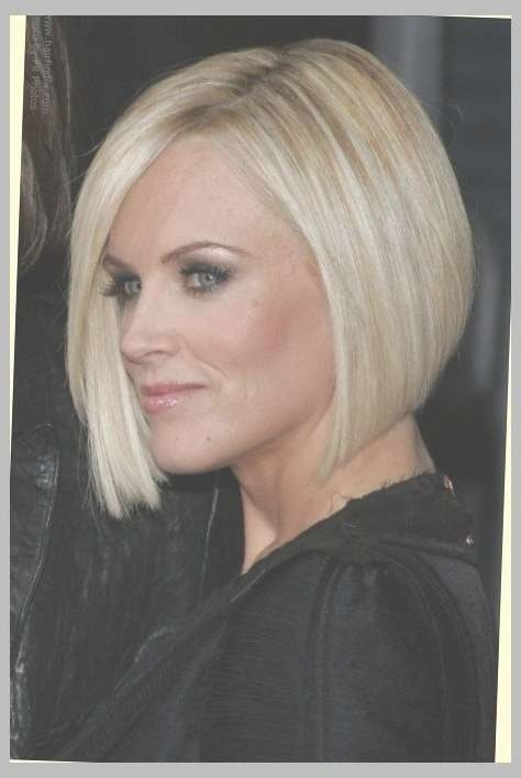 Hair Cut In A Jenny Mccarthy Bob To Soften A Strong Jaw Line Regarding Jaw Bob Haircuts (View 23 of 25)
