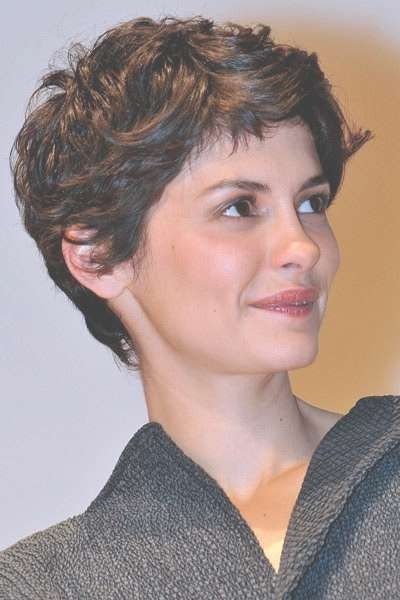 Hair I'm Crushing On: Audrey Tautou's Incredibly Adorable Pixie Regarding Most Up To Date Audrey Tautou Medium Haircuts (View 20 of 25)