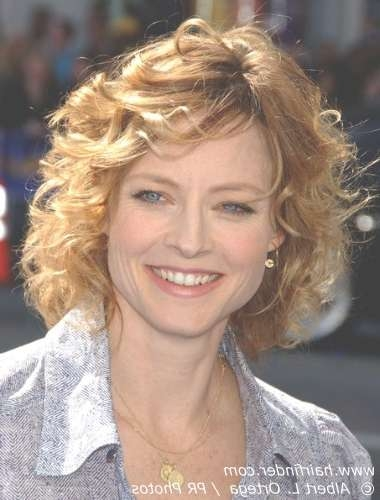 View Gallery of Medium Haircuts For Older Women With Curly Hair ...
