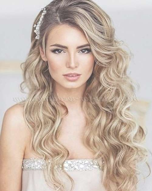 Hair – Wedding Hairstyles #2735699 – Weddbook Intended For 2018 Long Hairstyle For Wedding (View 16 of 25)