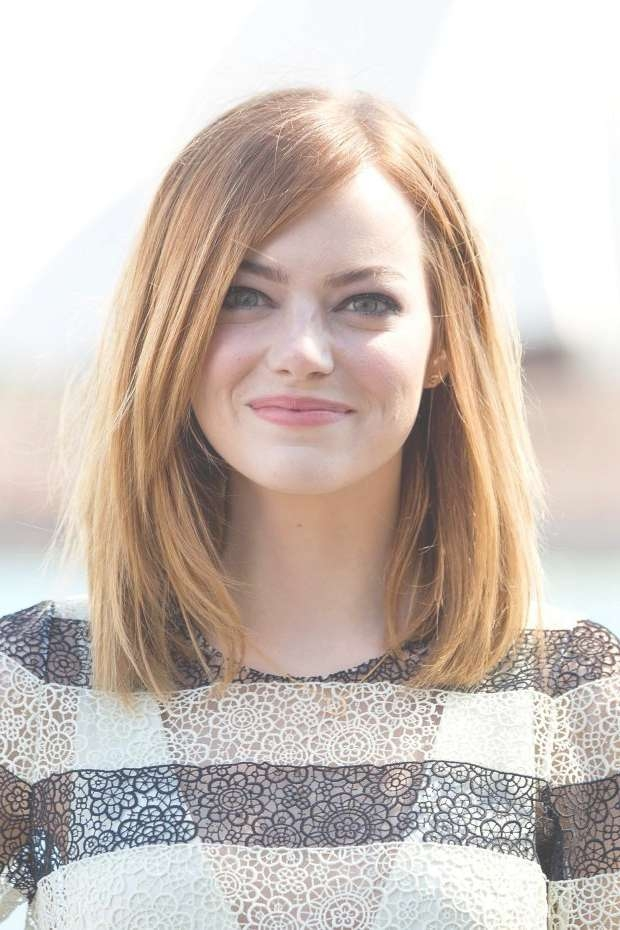 Haircut Styles For Medium Length Straight Hair Within Most Up To Date Medium Haircuts For Straight Hair (View 3 of 25)