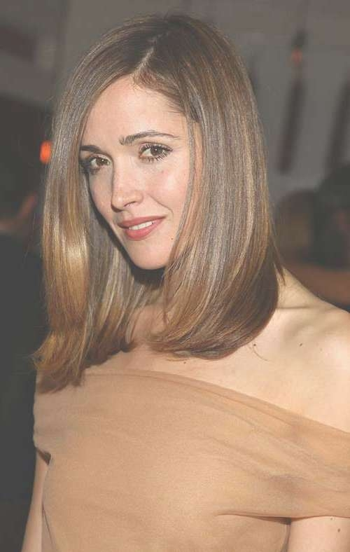 Haircuts For Medium Thick Hair | Hairstyles & Haircuts 2016 – 2017 Inside Most Popular Medium Hairstyles For Straight Thick Hair (View 8 of 15)