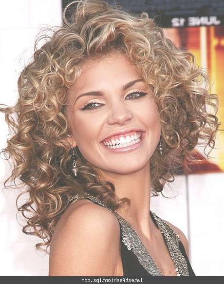 Haircuts For Thick Curly Hair – Latestfashiontips ® In Most Recent Medium Haircuts For Thick Curly Hair (View 17 of 25)