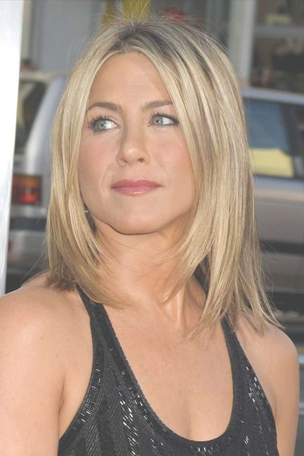 Haircuts For Thin Straight Medium Length Hair Within Current Medium Hairstyles With Layers For Fine Hair (View 9 of 25)