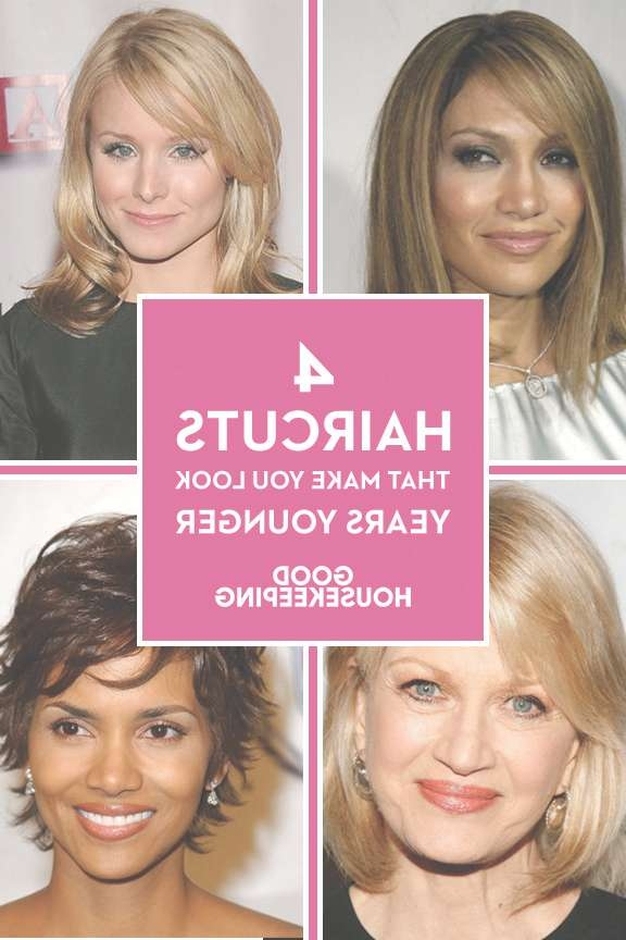 Haircuts To Look Younger – Flattering Haircuts And Hairstyles In Current Medium Haircuts To Look Younger (View 14 of 25)