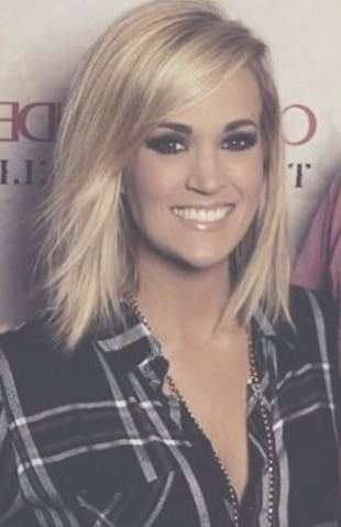 Haircuts Trends 2017/ 2018 – #carrieunderwood – Fashioviral With Newest Carrie Underwood Medium Hairstyles (View 16 of 25)