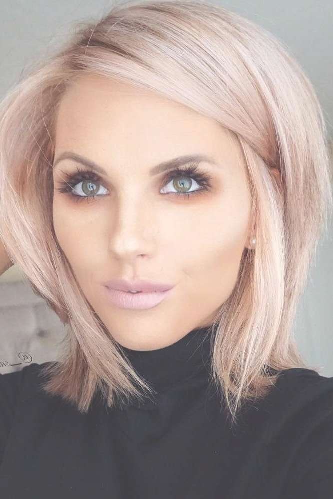 Haircuts Trends 2017/ 2018 – Chic Blunt Bob Hairstyles ? See More Regarding Blunt Bob Hairstyles (View 18 of 25)